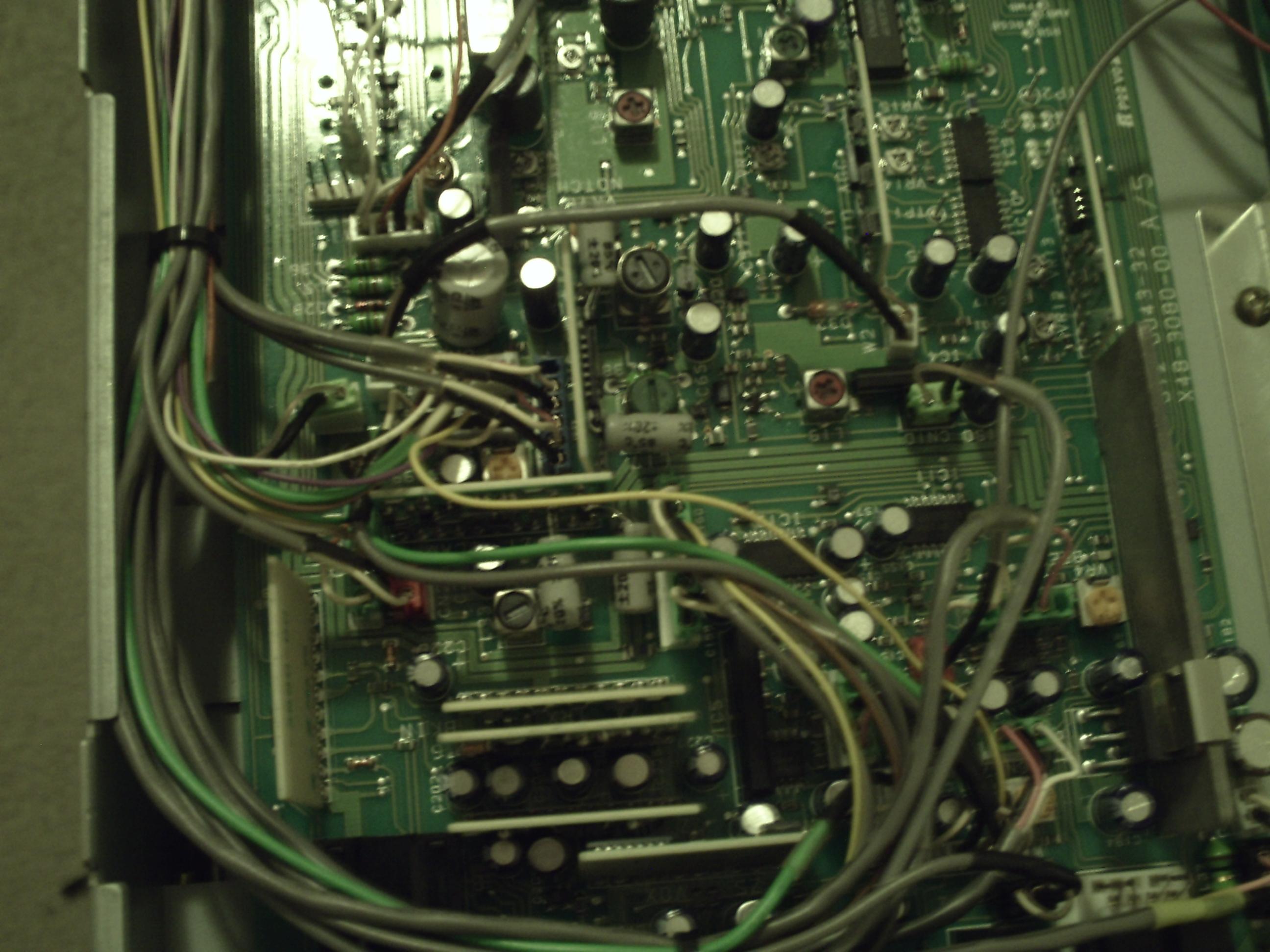 Simplified Kenwood TS-850 AM modifications Written by: Bill Paul